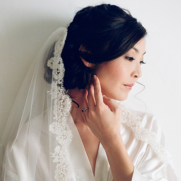 Colorado bride with hair and makeup by Beauty on Location Studio